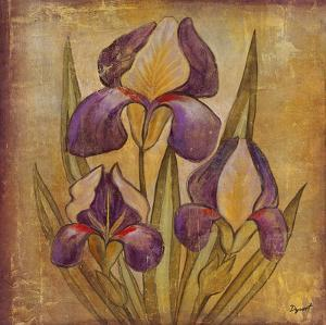 Ancient Floral I by Dysart