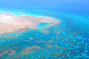 Great Barrier Reef, Cairns Australia, Seen from Above by dzain