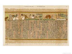 Ancient Egyptian Writing by E.a. Wallis Budge