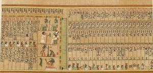Book of the Dead: Hall of the Two-Fold Maat Showing the Remaining 9 Judges of the Dead by E.a. Wallis Budge