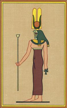 Cobra-Headed Goddess Guardian of the Pharaoh and an Embodiment of Divine Motherhood by E.a. Wallis Budge