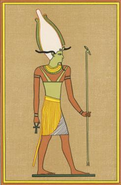 One of the Names Given to This God of the Underworld and of Vegetation is Osiris-Unnefer by E.a. Wallis Budge