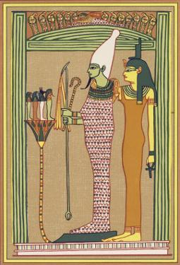 Osiris Isis and the Children of Horus by E.a. Wallis Budge