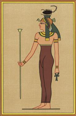 The Scorpion-Headed Funerary Goddess Association with the Embalming of Mummies by E.a. Wallis Budge