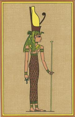 The Supreme Mother-God of Thebes and Consequently the Symbolic Mother the Pharaoh by E.a. Wallis Budge