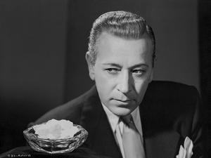 George Raft Posed in Coat and Tie by E Bachrach