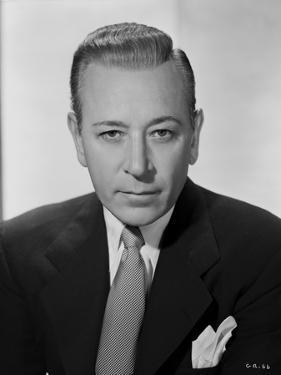 George Raft Posed in Suit by E Bachrach