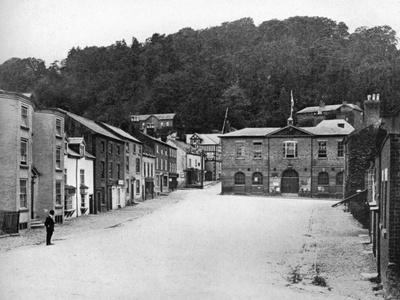 A Street in Montgomery, Wales, 1924-1926