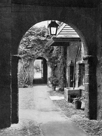 Old Court in the Precincts of Exeter Cathedral, Devon, 1924-1926