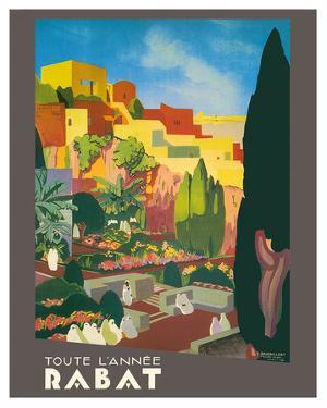 Rabat, Morocco - All Year Long by E. Baudrillart
