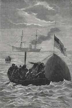 The Recovery Of a Space Capsule From the Sea by E. Bayard