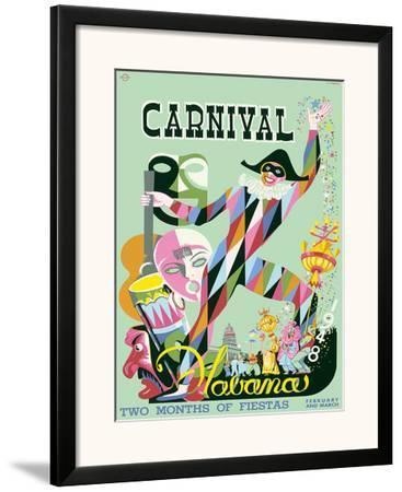 Carnival Havana: Two Months of Fiestas - Cuba c.1948 by E. Caravia