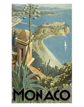 Monaco - Monte Carlo, French Riviera by E^ Clerissi