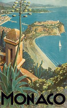 Monaco - Monte Carlo, French Riviera by E. Clerissi