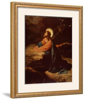 Christ in Gethsemane by E. Goodman
