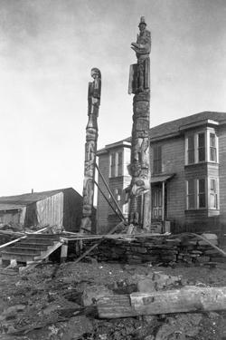 Totem Poles by E.H. Harriman