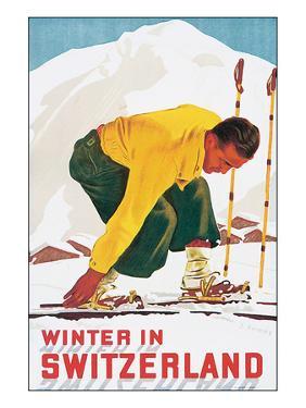 Winter in Switzerland by E^ Hermes