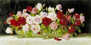 Classic Rose Bowl by E. Kruger