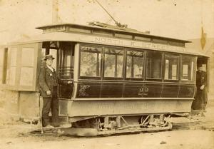 Tacoma Railway and Motor Company Street Car, North K Street Line (ca. 1899) by E.L. Gurnea