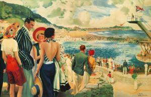 Scarborough, 1928 by E. Oakdale