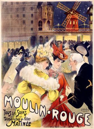 Moulin Rouge by E. Paul Villefroy