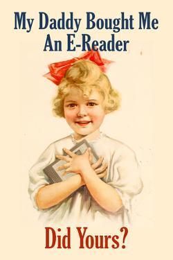 E-Reader Retro Advertising