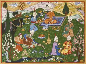 Persian Scene VI by E.S. Elmhurst