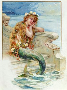 Little Mermaid, by Hans Christian Andersen (1805-75) by E.s. Hardy