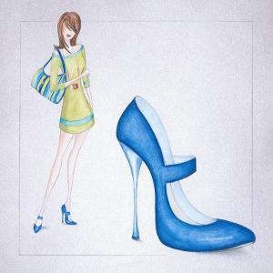 New Fashion I by E. Serine
