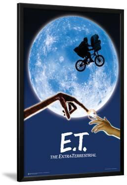 E.T. Movie Poster