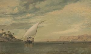 On the Nile by E.W. Cooke