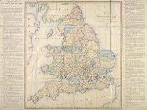 Wallis's New Railway Game, or Tour Through England and Wales, 1830 by E. Wallis