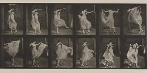 Plate Number 188. Dancing , 1887 by Eadweard Muybridge