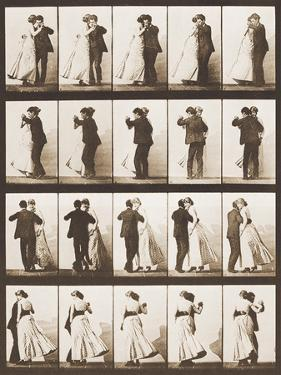 The Waltz by Eadweard Muybridge
