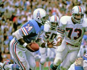 Earl Campbell 1978 Action