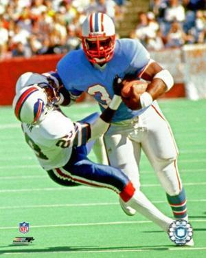 Earl Campbell 1983 Action