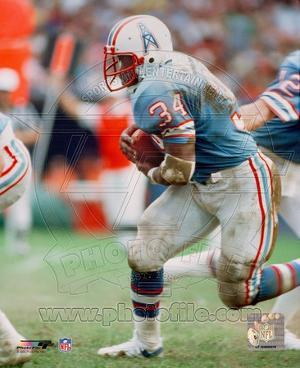 Earl Campbell - Running with ball