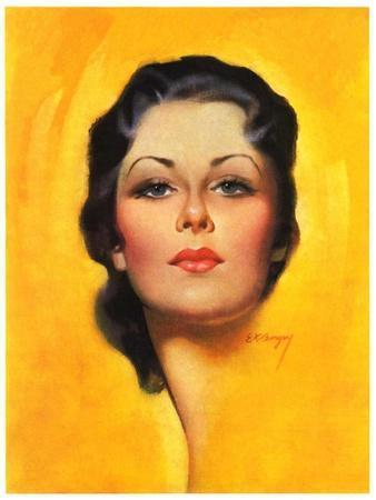 """Brunette,""May 25, 1935"