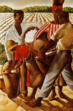 Cotton Pickers by Earle Wilton Richardson