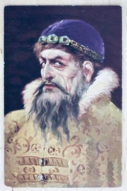 Early 20th Century Russian Postcard of Ivan the Terrible