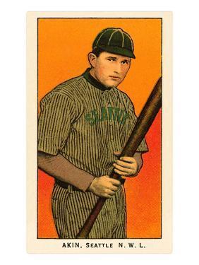 Early Baseball Card, Akin