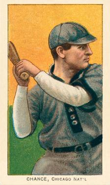 Early Baseball Card, Frank Chance