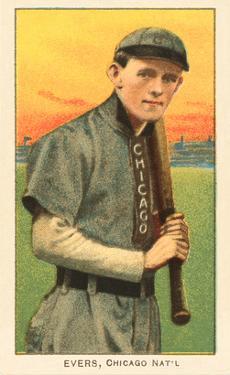 Early Baseball Card, Johnny Evers