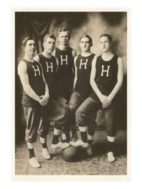 Early Basketball Team