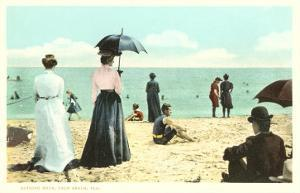 Early Beach Scene, Palm Beach, Florida