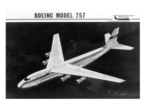 Early Concept of Boeing 757