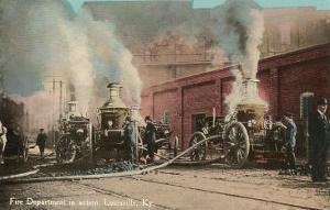 Early Fire Pumpers, Louisville, Kentucky