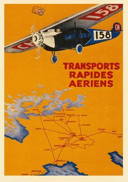 Early French Air Routes, Monoplane