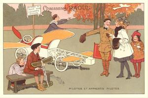 Early French Flying Lessons