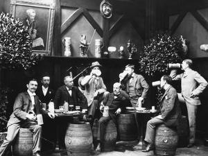 Early German Beer Drinkers
